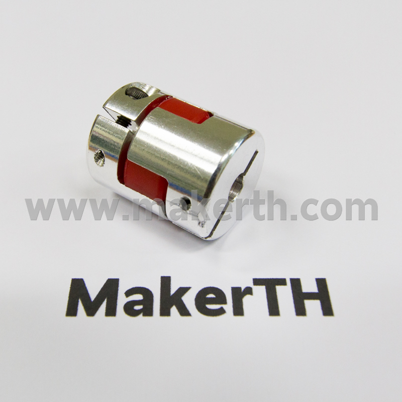 Coupling 6.35 to 10 mm