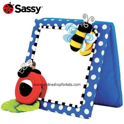 กระจกส่อง Sassy Crib and Floor Mirror