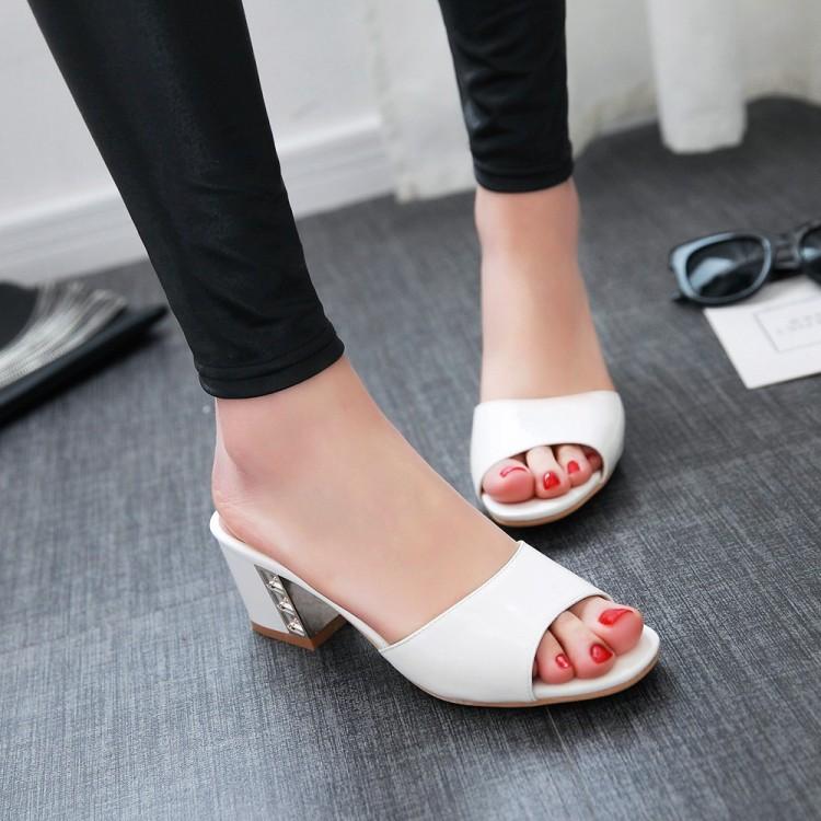 Preorder รองเท้าแฟชั่น รองเท้าเปิดส้น 32-43 รหัส 9DA-05270