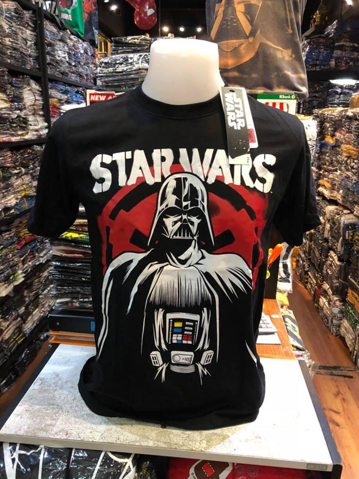 สตาร์วอร์ (Darth Vador black Star Wars LOGO CODE:1356)