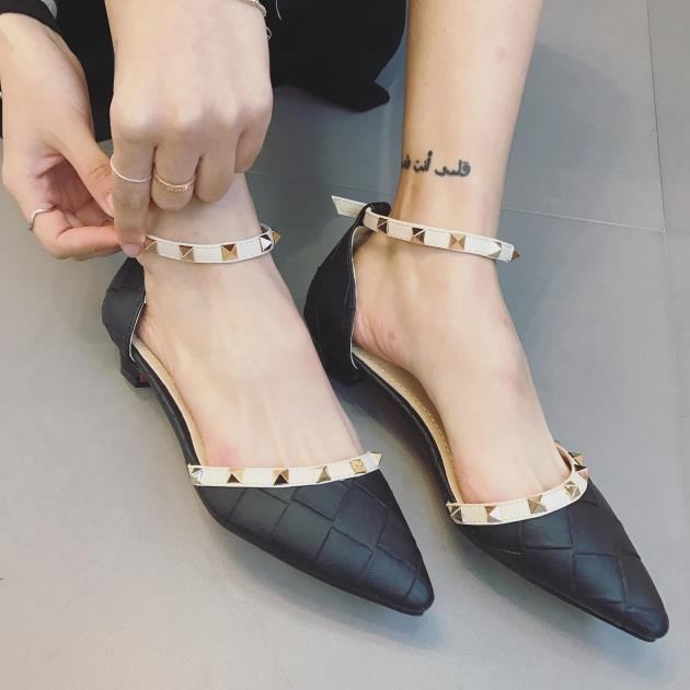Preorder รองเท้าแฟชั่น สไตล์เกาหลี 35-41 รหัส GB-1144