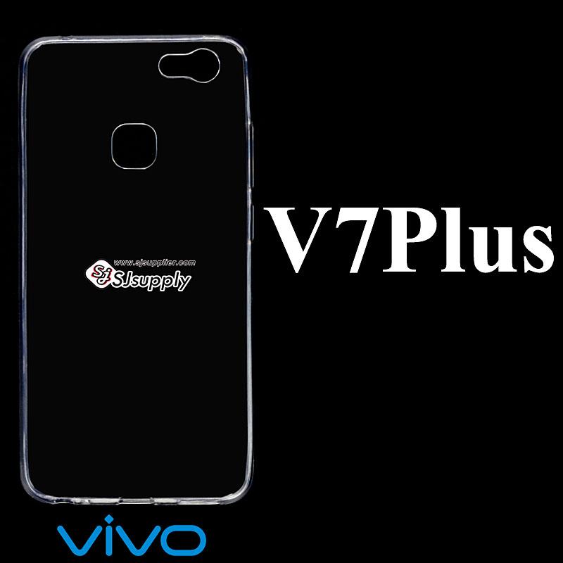 เคส Vivo V7 Plus ซิลิโคน สีใส