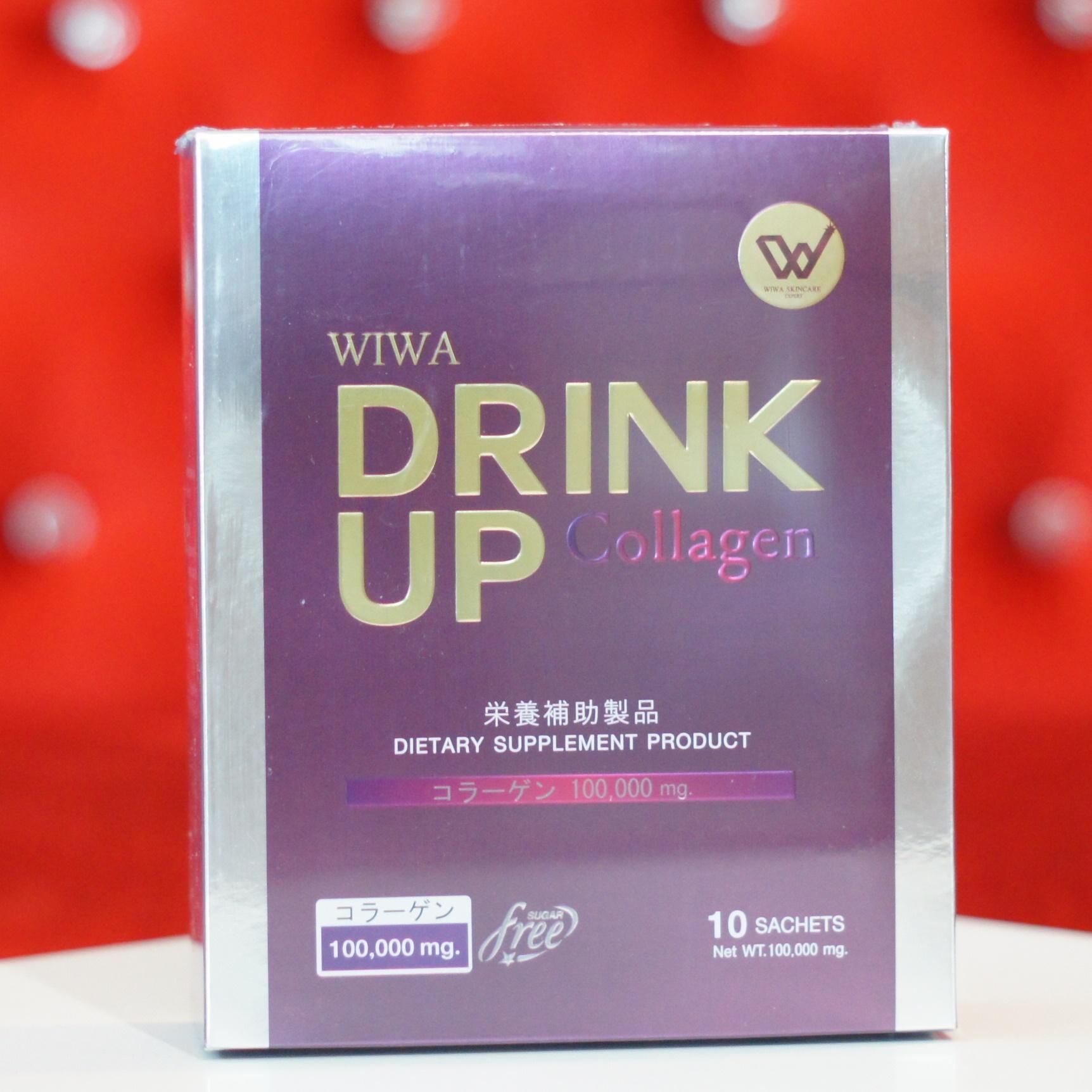 Wiwa Collagen Drink Up วีว่า คอลลาเจน