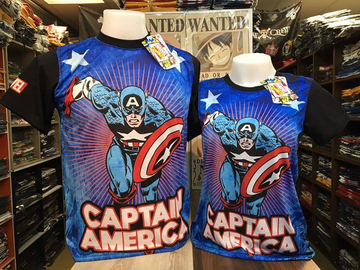 กัปตันอเมริกา (Captain America blue CODE:1396)