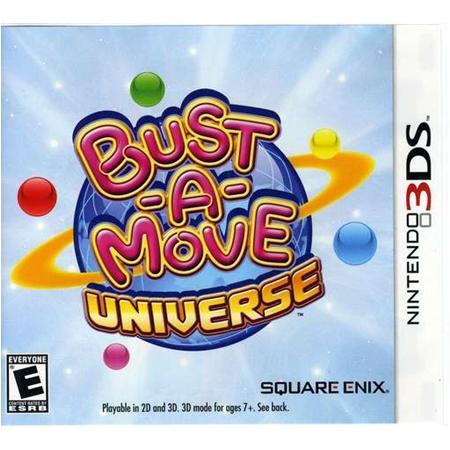 3DS: BUST-A-MOVE UNIVERSE (US) [ส่งฟรี EMS]