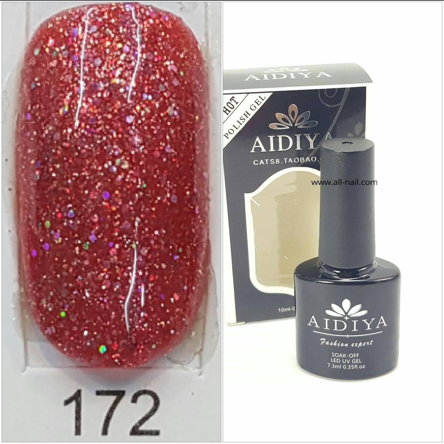 สีเจลทาเล็บ AIDIYA #172