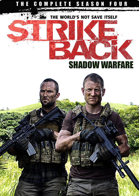 Strike Back Season 4 Shadow Warfare (2013) / สองพยัคฆ์สายลับข้ามโลก ปี 4 / 3 แผ่น DVD (บรรยายไทย)