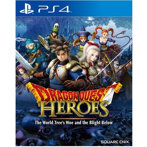 PS4: Dragon Quest Heroes - The World Tree's Woe and the Blight Below (Z3) - Eng [ส่งฟรี EMS]