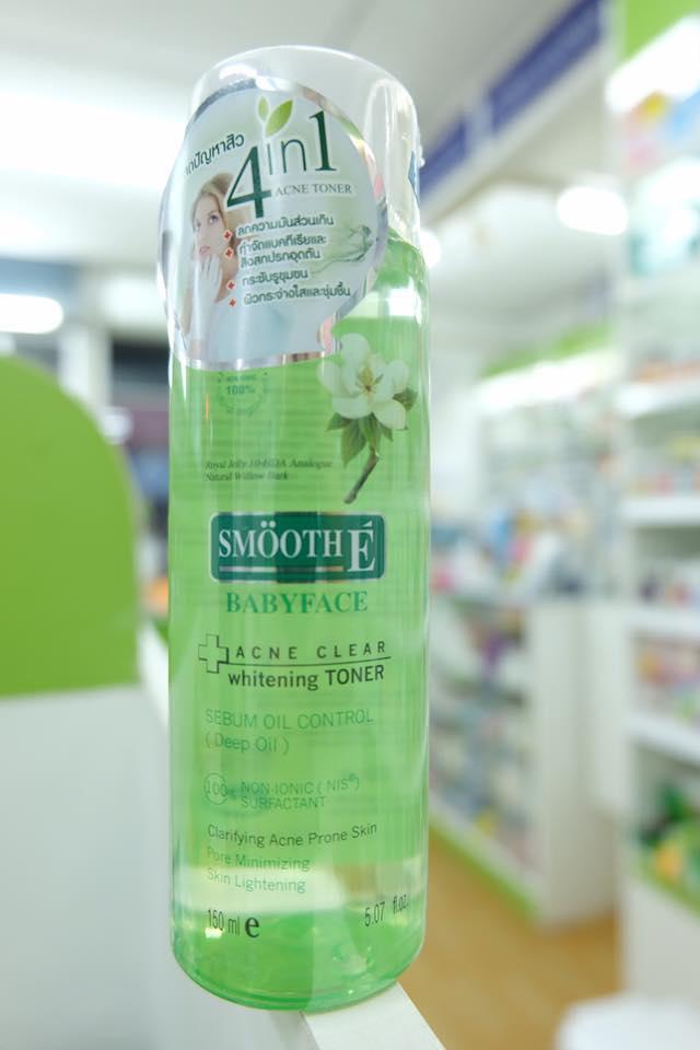 acne clear whitening toner 150 ml