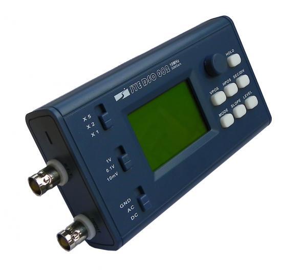 ดิจิตอล ออสซิลโลสโคป 10MHz Pocket/Portable Oscilloscope & Probe 2 CH