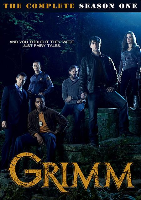 Grimm Season 1 / กริมม์ ยอดนักสืบนิทานสยอง ปี 1 / 5 แผ่น DVD (บรรยายไทย)