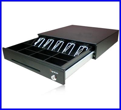 ลิ้นชักเก็บเงิน ลิ้นชักเก็บธนบัตร ลิ้นชักเก็บเงินสด Cash drawer Cash box GS-6100(5 ช่องธนบัตรไทย 7ช่องเหรียญ)