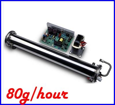เครื่องผลิตโอโซน ใช้ได้ทั้งน้ำและอากาศ ผลิตโอโซนอากาศ ผลิตโอโซนน้ำให้มีโอโซนบริสุทธิ์ 80g/hr Ozone generator CH-PC80G (Pre-Order2 week)