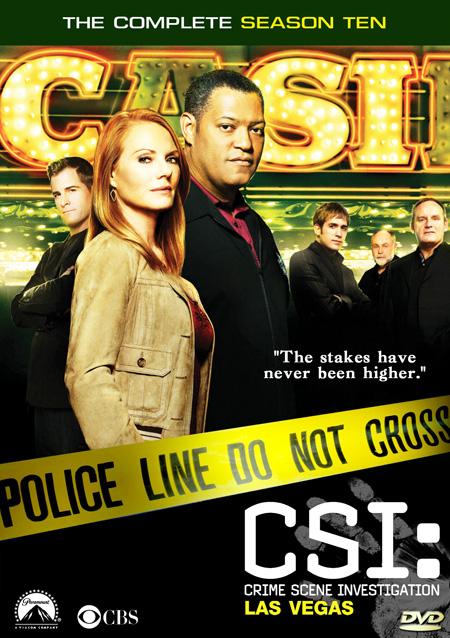 CSI: Vegas Season 10 / ไขคดีปริศนา เวกัส ปี 10 / 7 แผ่น DVD (พากษ์ไทย+บรรยายไทย)