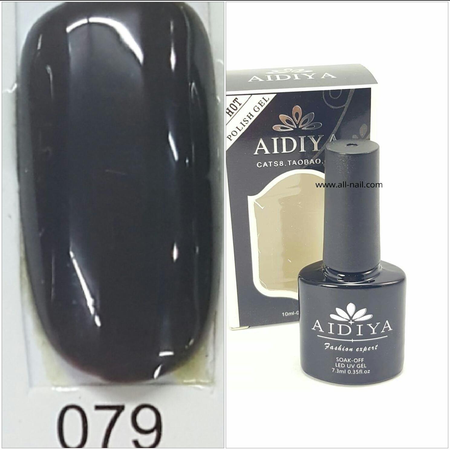 สีเจลทาเล็บ AIDIYA #079