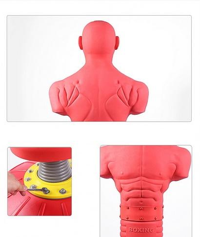 หุ่นเป้าชกซ้อมมวยรุ่นนี้จะมีรูปร่างคล้ายคนจริงๆ สามารถระบายอารมณ์ได้เต็มที่