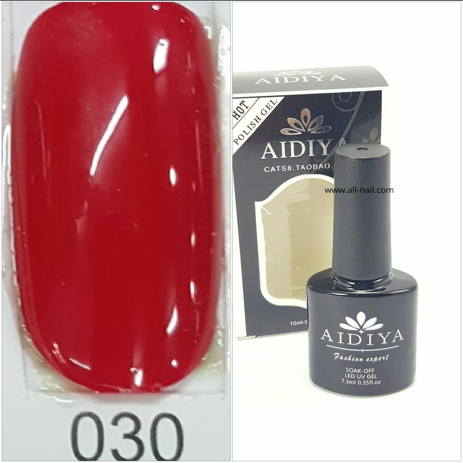สีเจลทาเล็บ AIDIYA #030