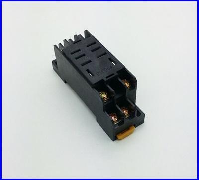 ซ็อกเก็ตรีเลย์ ซ็อกเก็ตสำหรับรีเลย์ Relay Socket PTF08A for LY2NJ
