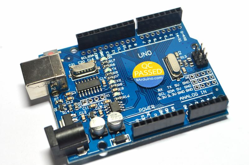 Arduino Uno R3 SMD ราคาถูก พร้อมสาย USB