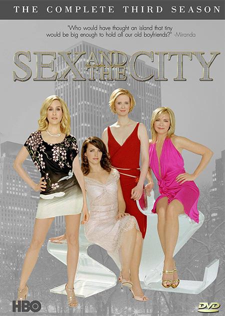 Sex and the City Season 3 / เซ็กส์ แอนด์ เดอะซิตี้ ปี 3 / 6 แผ่น DVD (บรรยายไทย)