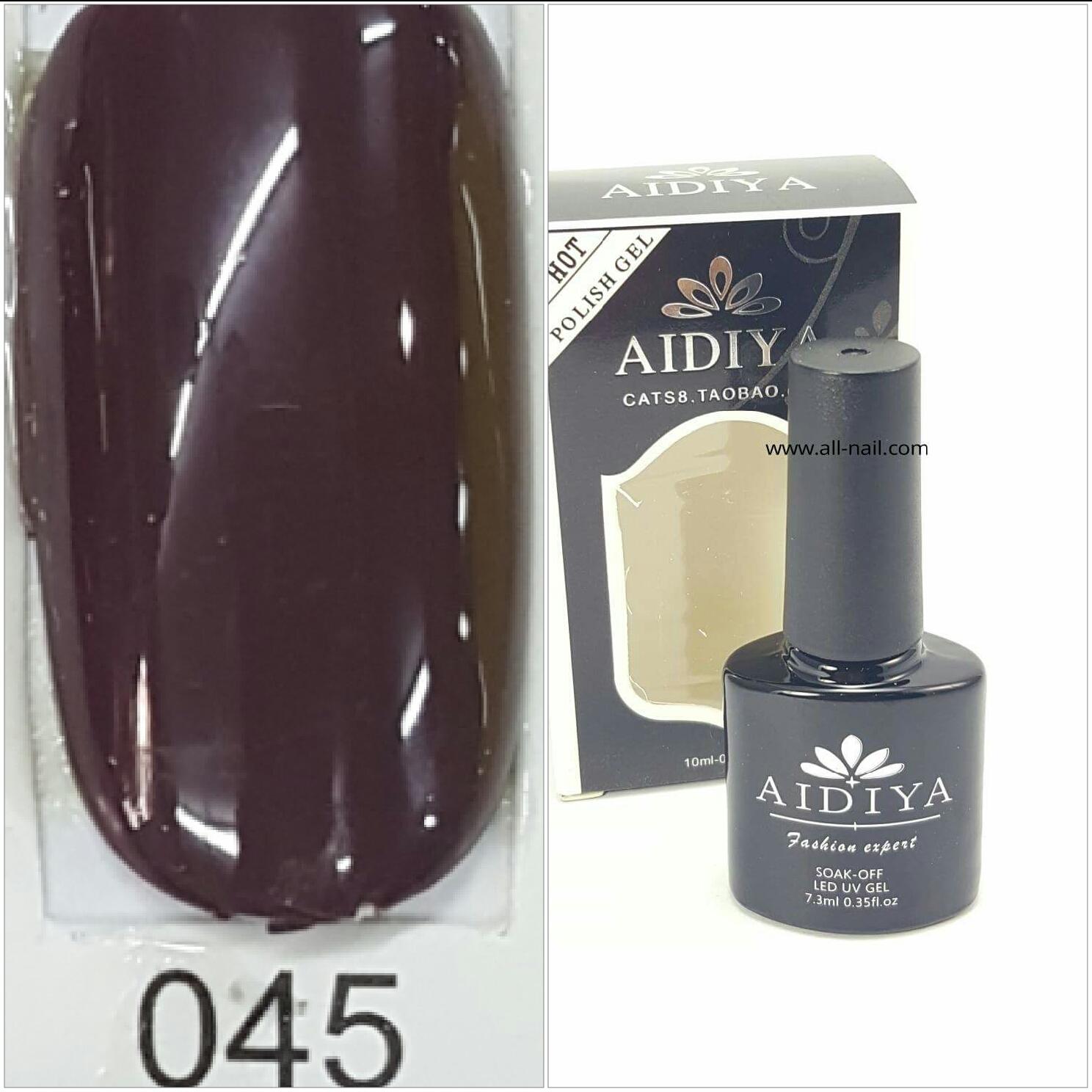 สีเจลทาเล็บ AIDIYA #045