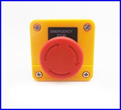 อีเมอเจนซี่สวิทซ์ สวิทซ์ตัดไฟ สวิทซ์ปิดฉุกเฉิน emergency stop switch 1NO+1NC