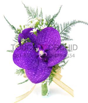 ช่อดอกไม้ติดเสื้อ รหัส 6031