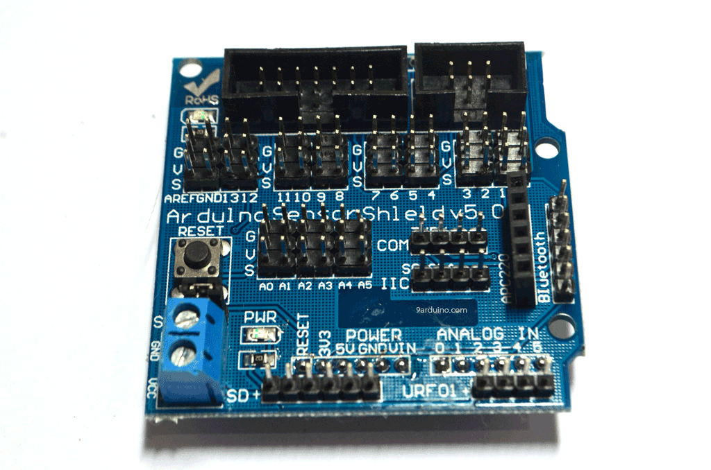 Arduino Sensor Shield V5