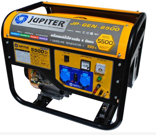 เครื่องปั่นไฟ JUPITER 5KW รุ่น JP-GEN-6500