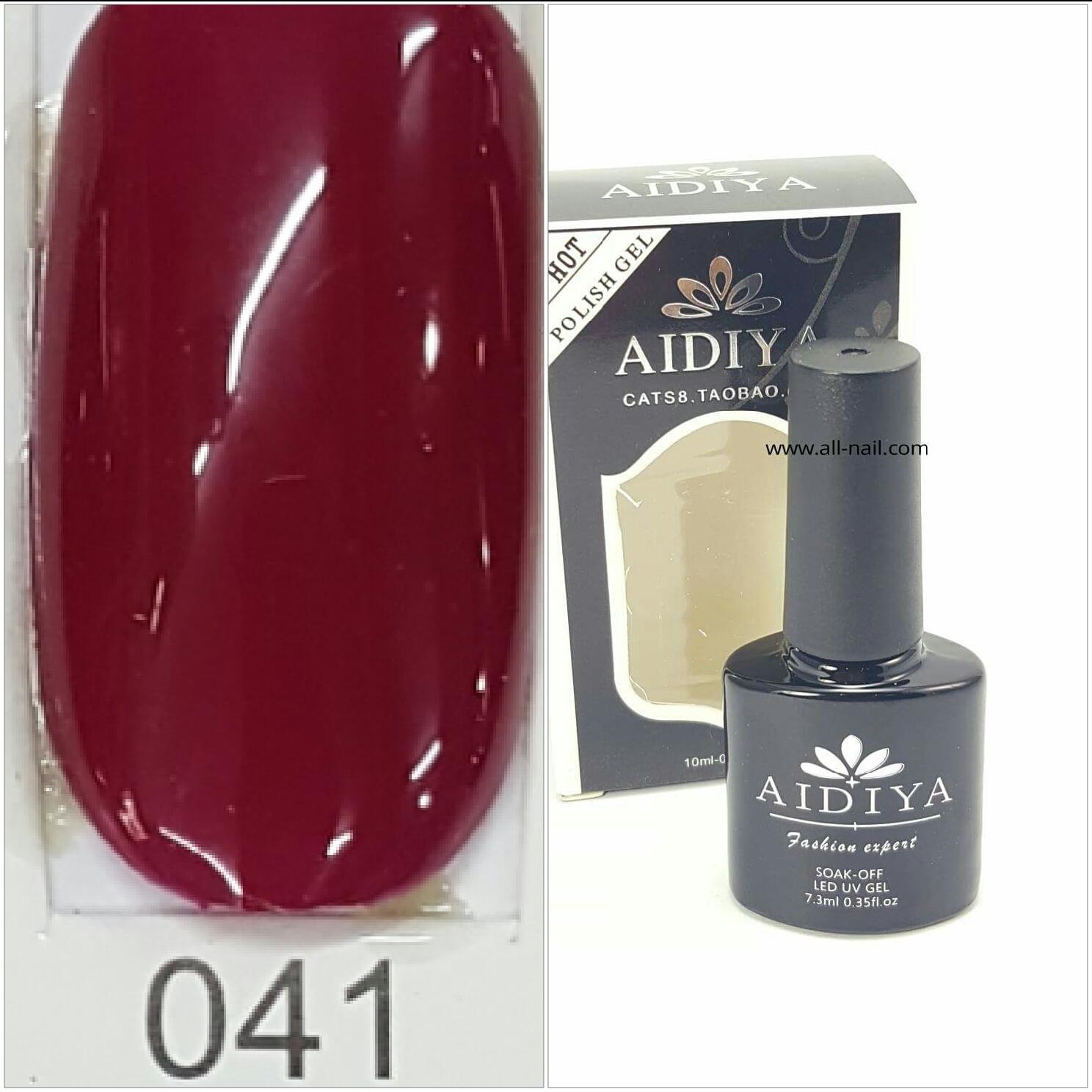 สีเจลทาเล็บ AIDIYA #041