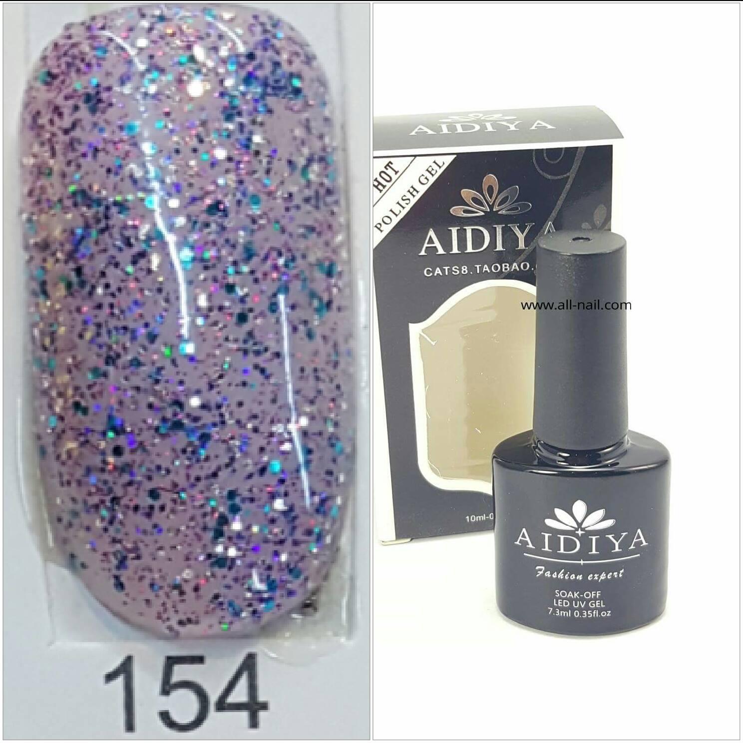 สีเจลทาเล็บ AIDIYA #154