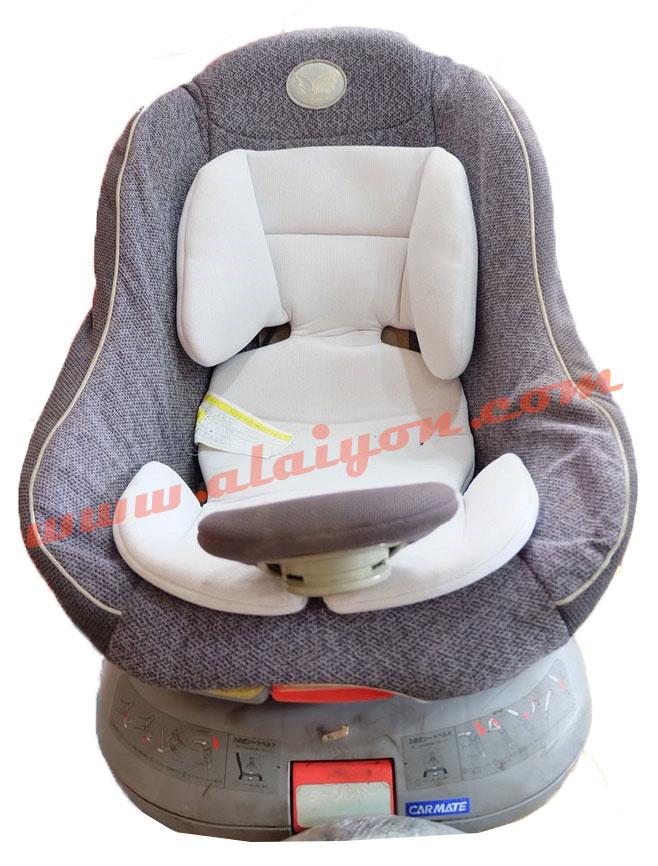 carmate car seat สีเทา