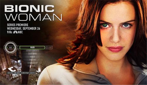 Bionic Woman Season 1 / ไบโอนิค วูแมน ผู้หญิงเหนือมนุษย์ ปี 1 / 2 แผ่น DVD (พากย์ไทย+บรรยายไทย)