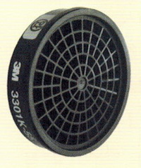 ตลับไส้กรองไอระเหยสารตัวทำละลาย 3M-3301k-55