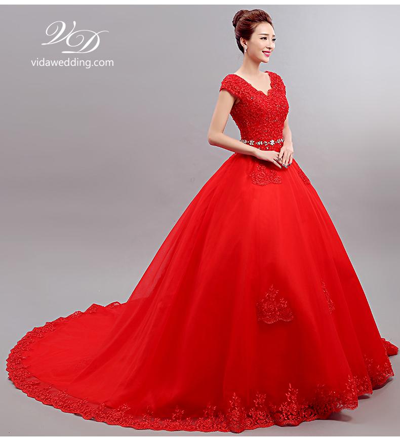 ชุดแต่งงาน สีแดง