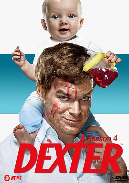 Dexter Season 4 / เด็กซเตอร์ เชือดพิทักษ์คุณธรรม ปี 4 / 4 แผ่น DVD (บรรยายไทย)