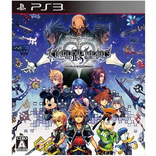 PS3 : Kingdom Hearts - HD 2.5 ReMIX (Z-3) JAP [ส่งฟรี EMS]