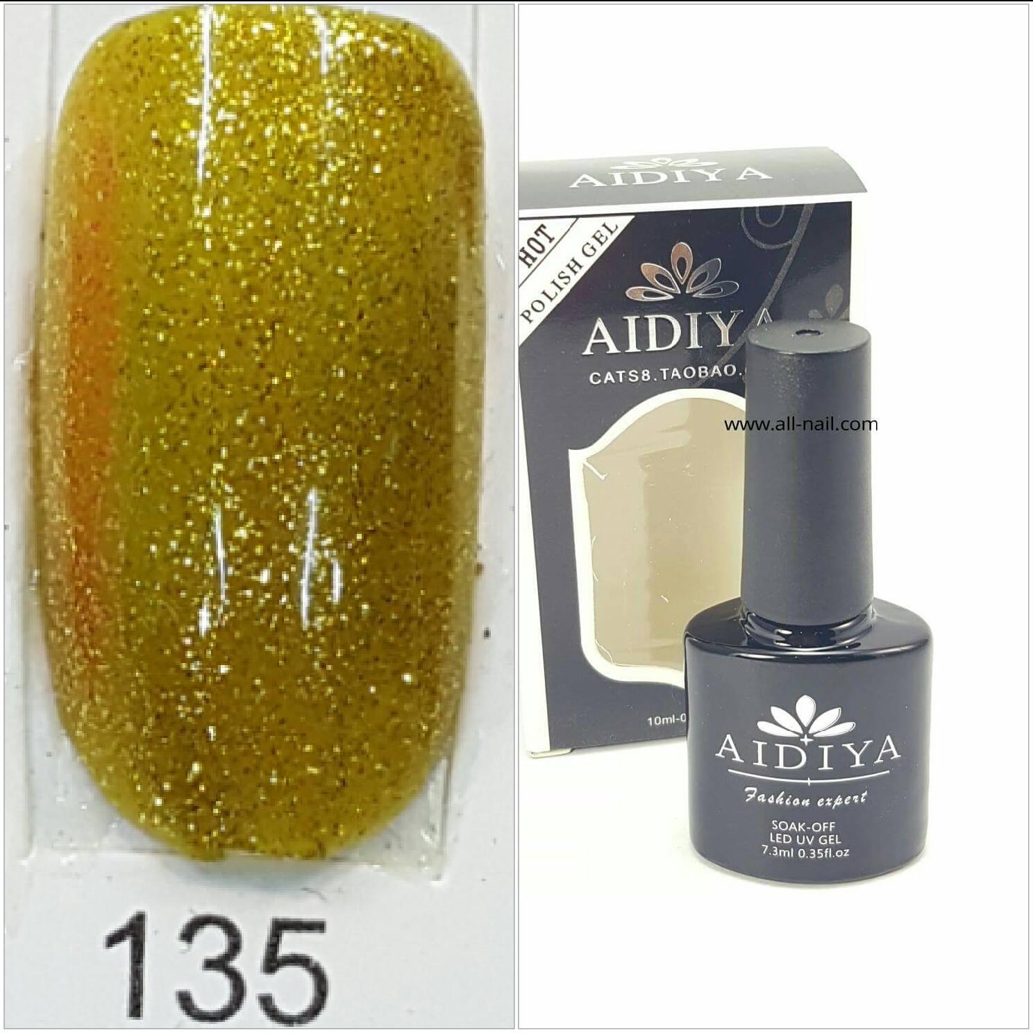 สีเจลทาเล็บ AIDIYA #135