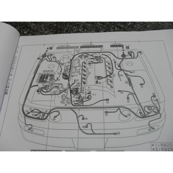 คู่มือซ่อมรถยนต์ WIRING DIAGRAM NISSAN STAGEA ปี 98