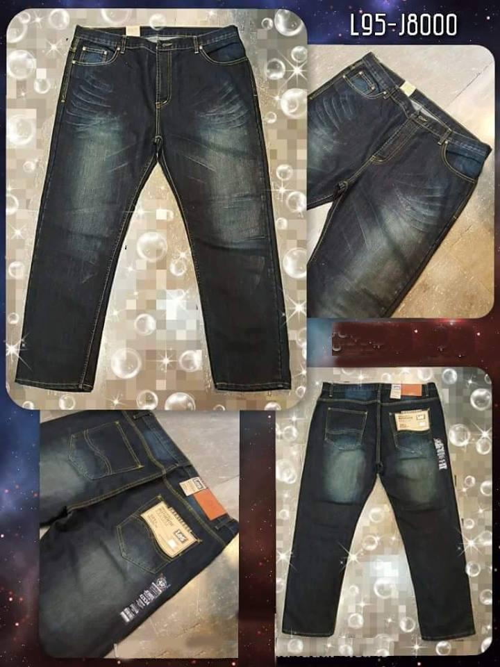 กางเกงยีนส์ขายาว รุ่น L95-8000