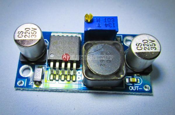 สวิทชิ่ง เรกูเลเตอร์ ใช้สำหรับ แปลงไฟ 12 V เป็น 5 V