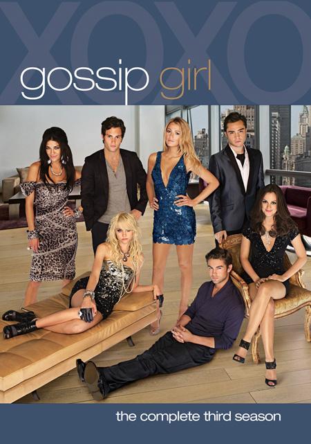 Gossip Girl Season 3 / กอสซิป เกิร์ล แสบใสไฮโซ ปี 3 / 5 แผ่น DVD (บรรยายไทย)