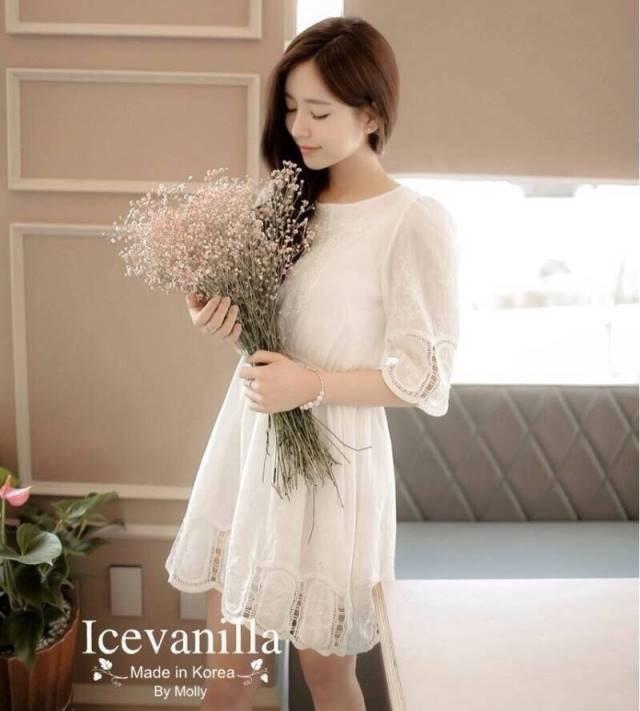 La vichy Lace Dress
