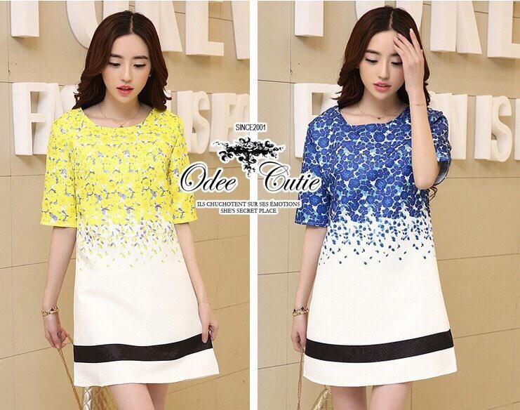 Moschino vivid color dress