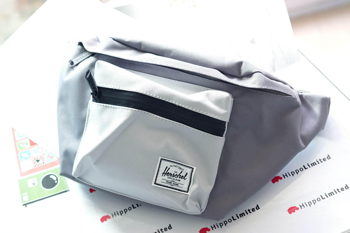 กระเป๋าคาดเอว Herschel Seventeen Hip Pack - Grey / Lunar Rock