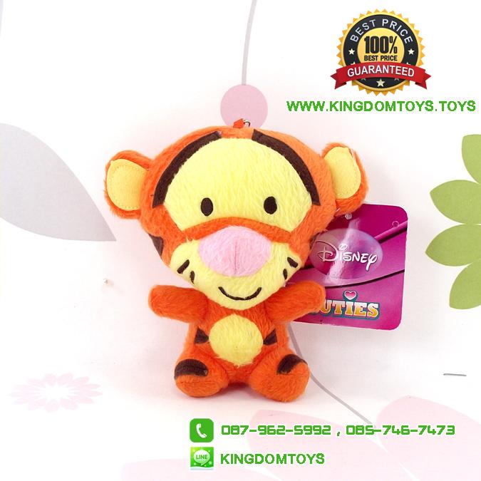 พวงกุญแจ Cutie Tigger ท่านั่ง 4.5 นิ้ว [Disney]