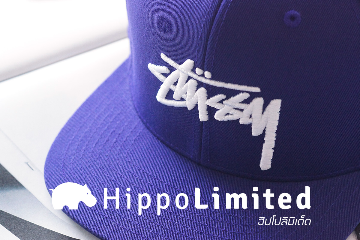 Stussy Stock Snapback - Purple