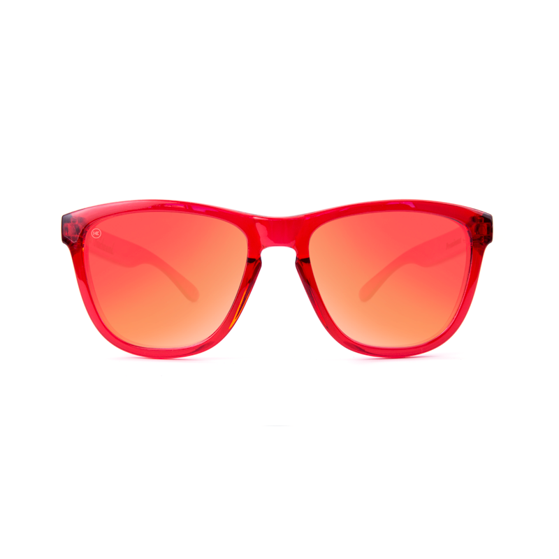 แว่น Knockaround Premiums Sunglasses - Red Monochrome