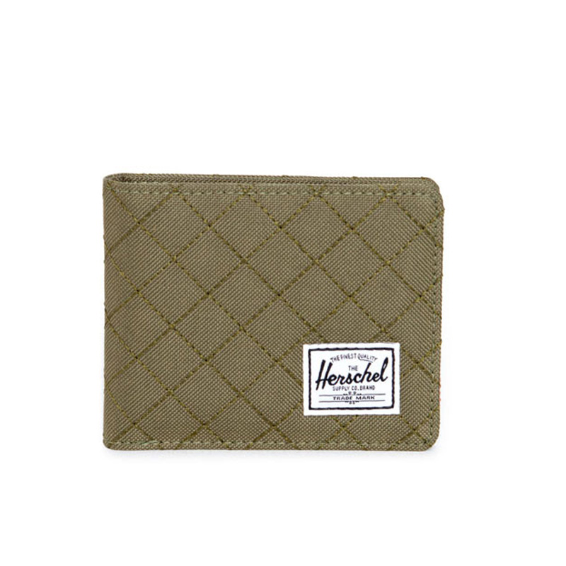 Herschel Roy Wallet - Army Quilted