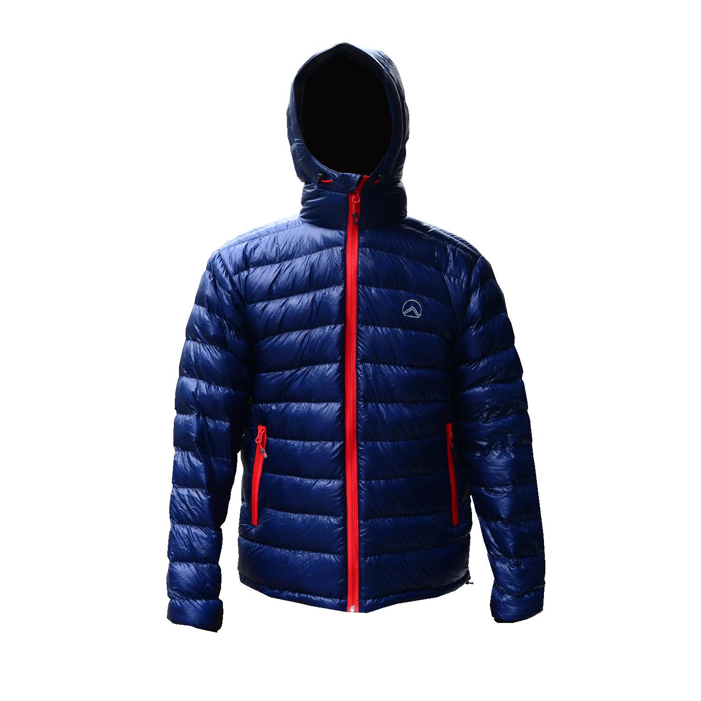 KAEMP8848 DOWN JACKET FOR MEN (Chilli) เสื้อขนเป็ดสำหรับ -10 ถึง -15 องศา - NAVY BLUE